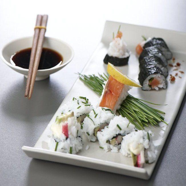 Receita Sushi (edição 10, setembro de 2009 - Chefe Bernardo Cabral) por Equipa Bimby - Categoria da receita Pratos principais Peixe