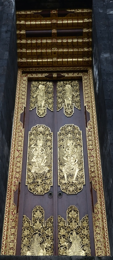 Besakih Temple  - the mother temple for Balinese Hindus - on the slopes of Gunung Agung. #Bali #doors #pintu