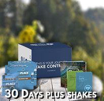 30 day pack of weight management system. TruVision truWeight & Energy and TruFix combo plus vegan protein shakes.