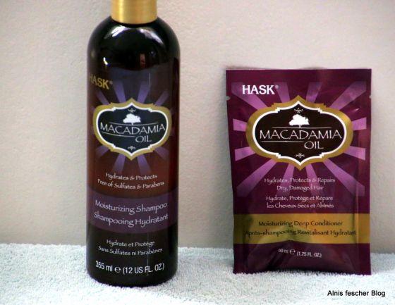 HASK Macadamia Öl: Shampoo und Deep Conditioner http://www.alnisfescherblog.com/hask-macadamia-oel-und-deep-conditioner/