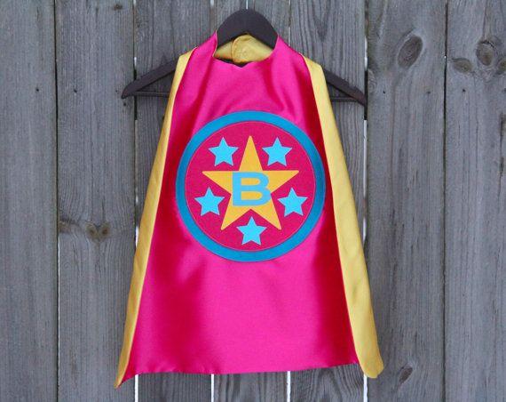 GEPERSONALISEERDE Custom Star SUPERHELD CAPE  door superkidcapes