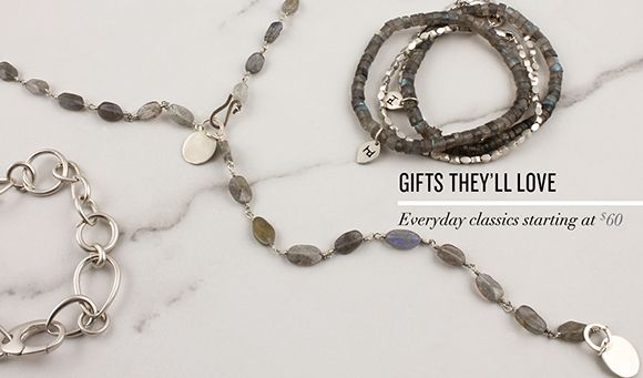 The stone that matches any skin tone! Shop labradorite and more gifts they'll love