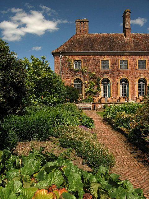 Barrington Court, Somerset, England. National Trust property.