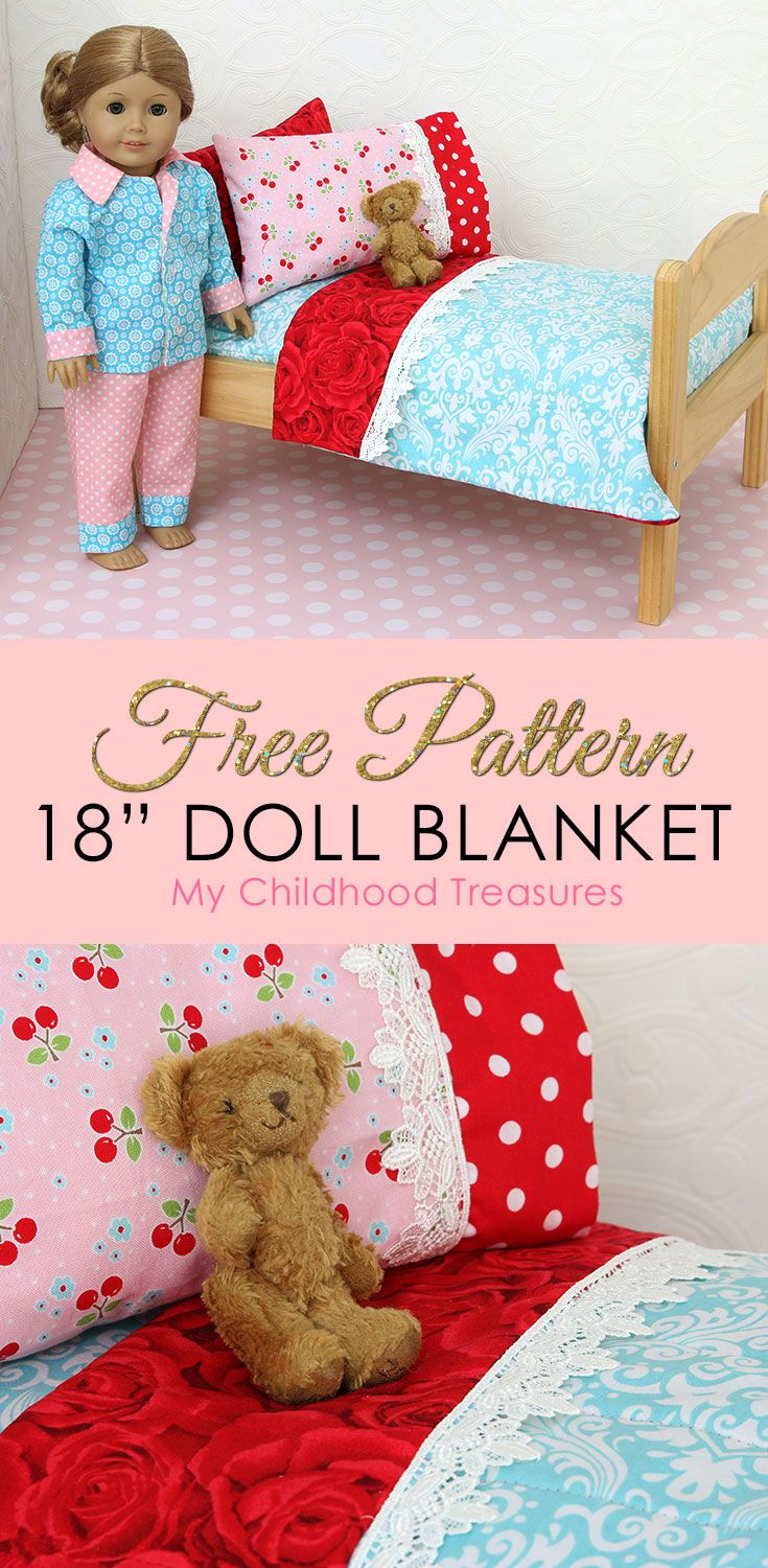 doll blanket pattern