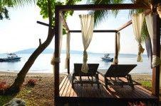 enjoy sun bathing at Trees and Fishes Villa in Vanuatu