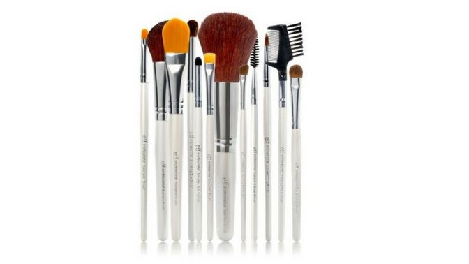 Top 6 Vegan Gifts for Her Under $50 - e.l.f. Cosmetics cruelty free brush set