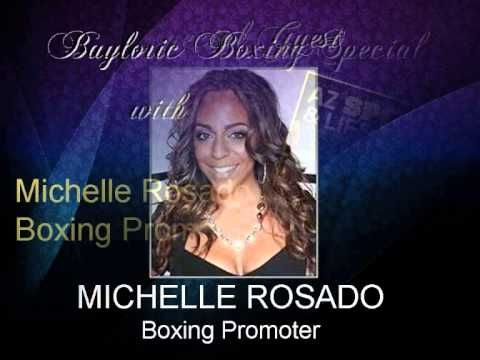 """Boxing Promoter Michelle Rosado talks to BaylorIC TV about King Gabriel Rosado's upcoming world championship challenge against Middleweight Champ Golovkin.     """"GOLOVKIN VS. ROSADO"""" which will be televised live on HBO Boxing After Dark Jan 19th 2013."""