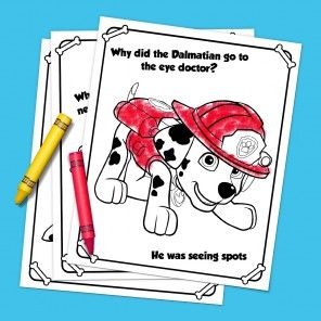Pup Jokes Coloring Pack