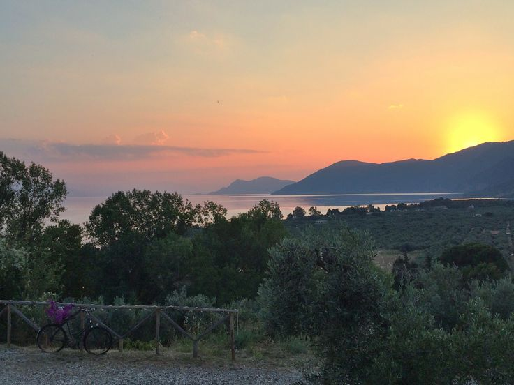 Sunset! The best hour of the day..  #sunset #greeksunset #rovies #evia #eleonashotel