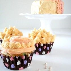 Cereal (cup) Cake with Frosting