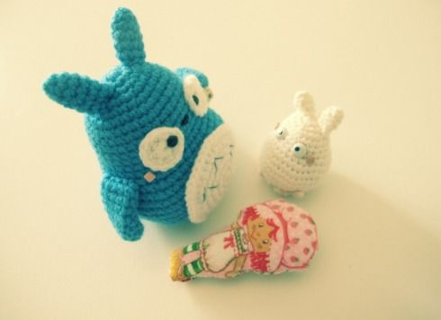 Totoro Azul Amigurumi : Best totoro images my neighbor totoro studio