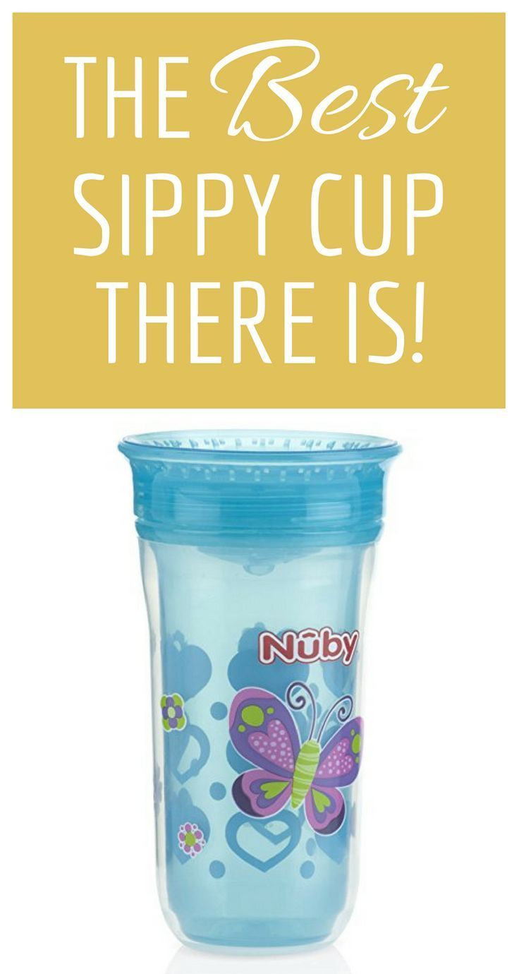 The BEST Sippy Cup There Is! | No spills, easy to use, and easy to clean. We LOVE the Nuby 360 Wonder Cup! An awesome transitional tool as your toddler moves towards drinking from a regular cup. #afflink