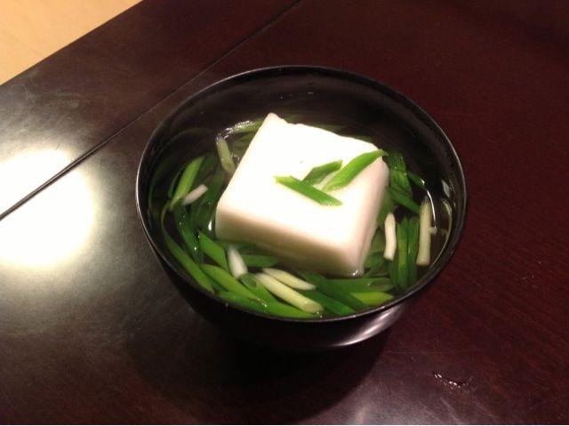 京都おばんざい。初戎ははんぺん、らしい。 - 8件のもぐもぐ - はんぺんと葱のおすまし by nijigoro