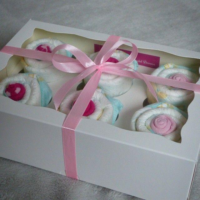 #mulpix Cupcakes aus Windeln 6er Box  http://larissa-windeldreams.dawanda.com   #diapercake  #windeltorte  #Baby  #Geschenk  #diaper  #Windel  #geburtstag  #geschenkgeburt  #Geburt  #babyshower  #babyparty  #schwangerschaft  #birth  #windeldreams  #larissa-windeldreams  #larissa_windeldreams  #pampers  #rosa  #pink  #kind  #dawanda  #dawandashop  #madewithlove  #handmade  #handemadewithlove  #cupcakes  #mädchen  #windeltorten  #diapercakes  #babygirl