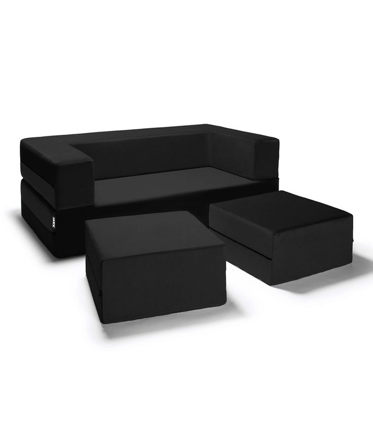 Take a look at this Black Modular Love Seat Sleeper today!