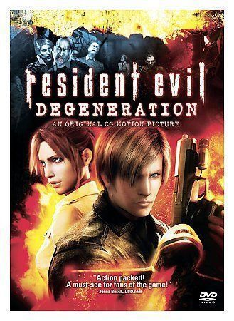 Resident Evil: Degeneration Paul Mercier, Alyson Court, Laura Bailey, Roger Cra