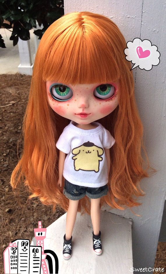 OOAK Blythe Katie Custom Blythe Doll 13 by by SweetCrate on Etsy
