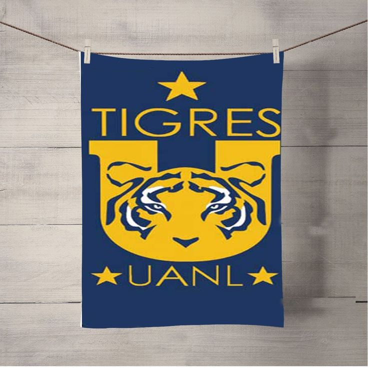 Tigres Uanl Logo Bath Towel Beach Towels