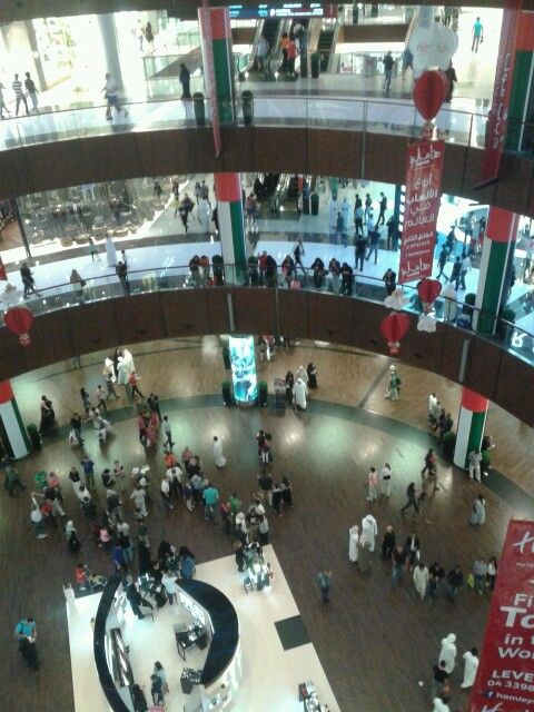 Busy Dubai Mall