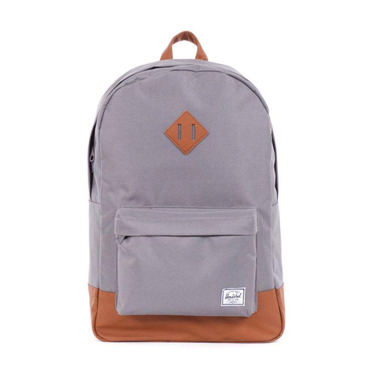 Herschel Heritage Backpack   Grey/Tan