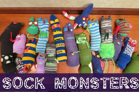 Great craft for Where the Wild Things Are ('Make October' MONSTER MONTH) Don't forget Go Away Big Green Monster, too.