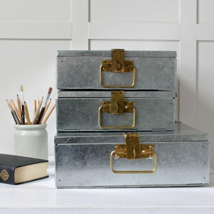Revo Steel Filing Box | Ebury Home & Garden
