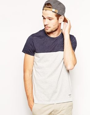 Jack Wills T-Shirt with Colour Block