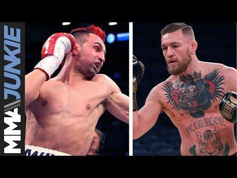 MMA Conor McGregor says Paulie Malignaggi suffered head trauma in their sparring