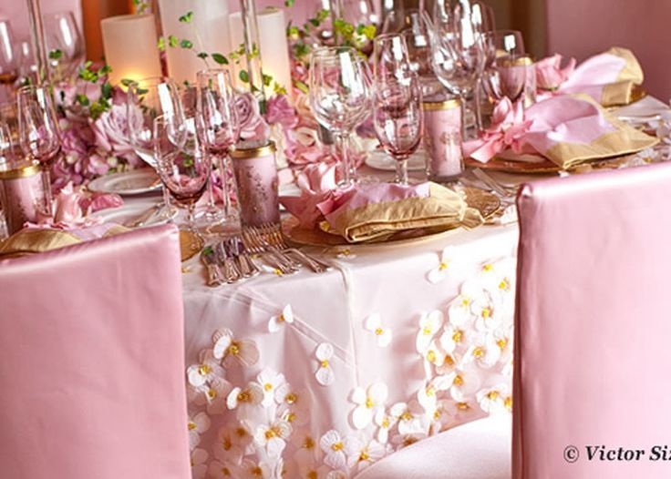 17 Spectacular Photo Of White And Gold Table Settings Concept