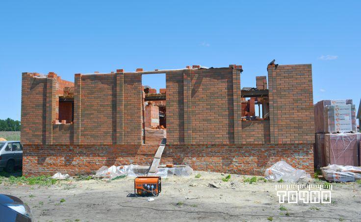 Проект жилого дома разработан архитектурной компанией ТОЧНО #строительство #жилого #дома #Тамбов