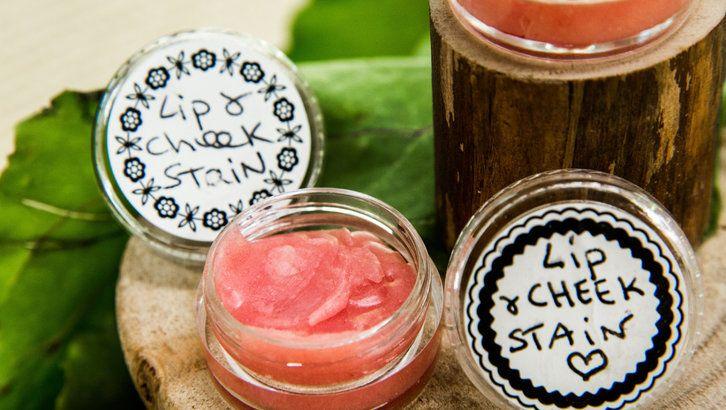DIY Luminous Lip & Cheek Stain