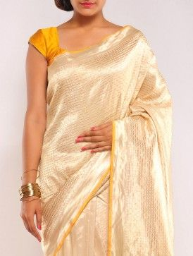 Gold Boheme Summer-Silk Saree
