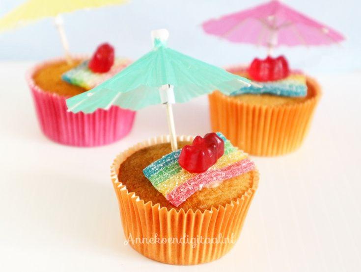 Afbeeldingsresultaat voor cupcake trakteren