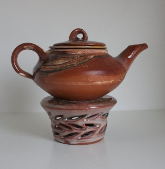 Lilian's Collection Handmade Terra Cotta Pottery Tea by ChezGalip