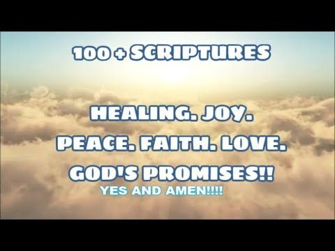 Bible Scriptures: Healing, Joy, Peace, Faith, Love, Strength