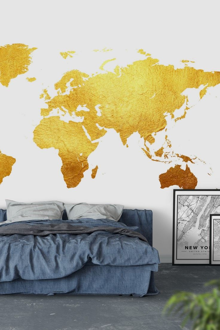 55 best Map wall murals images on Pinterest