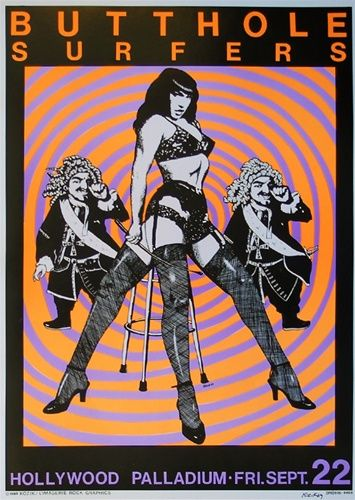 Butthole Surfers 1989 #concerts #gigposters http://www.pinterest.com/TheHitman14/music-poster-art-%2B/