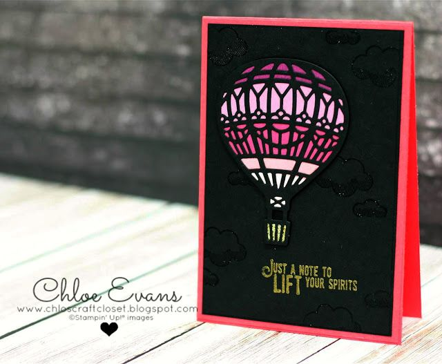 Yeah it's Friday and day 3 of my Onstage Display samples. Today both cards are from the Lift Me Up stamp set and matching dies. The first on...