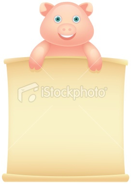 http://www.istockphoto.com/stock-illustration-23904264-pig-message.php