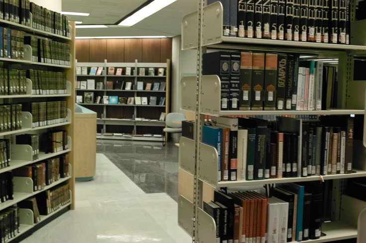 A view from within the PJRC reference collection.