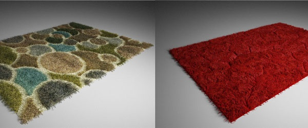 Rugs and Carpets With Vray