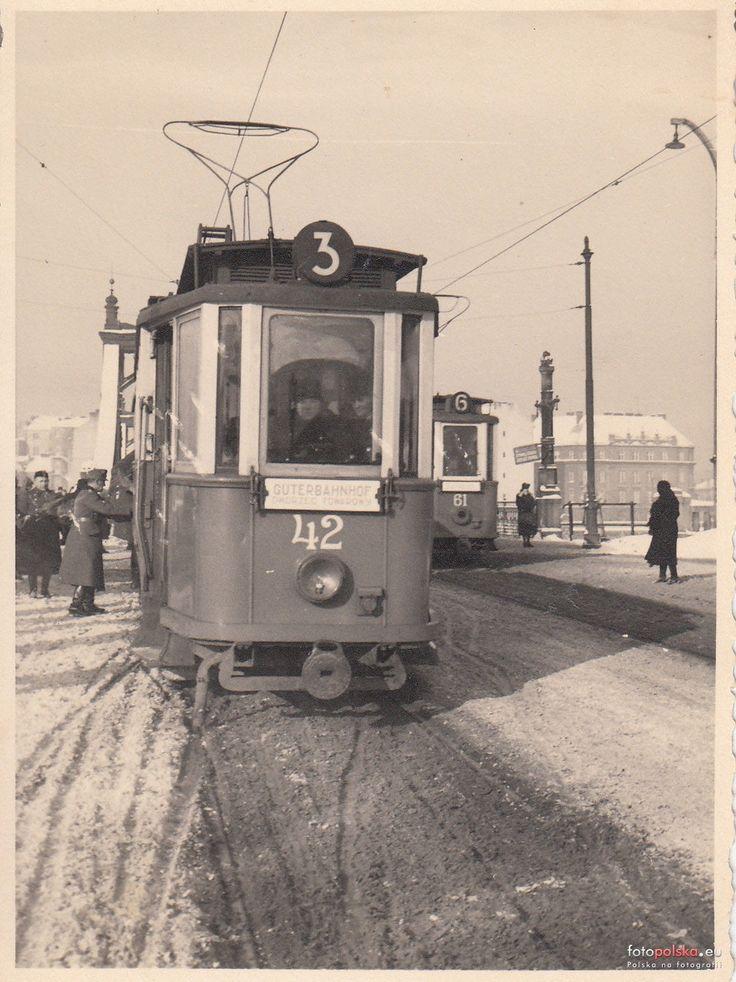 Tramwaje w Krakowie, Kraków - 1940 rok, stare zdjęcia