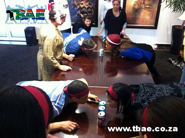 Merchant Commercial Finance Minute To Win It Team Building Cape Town #minutetowinit #teambuilding #tbae