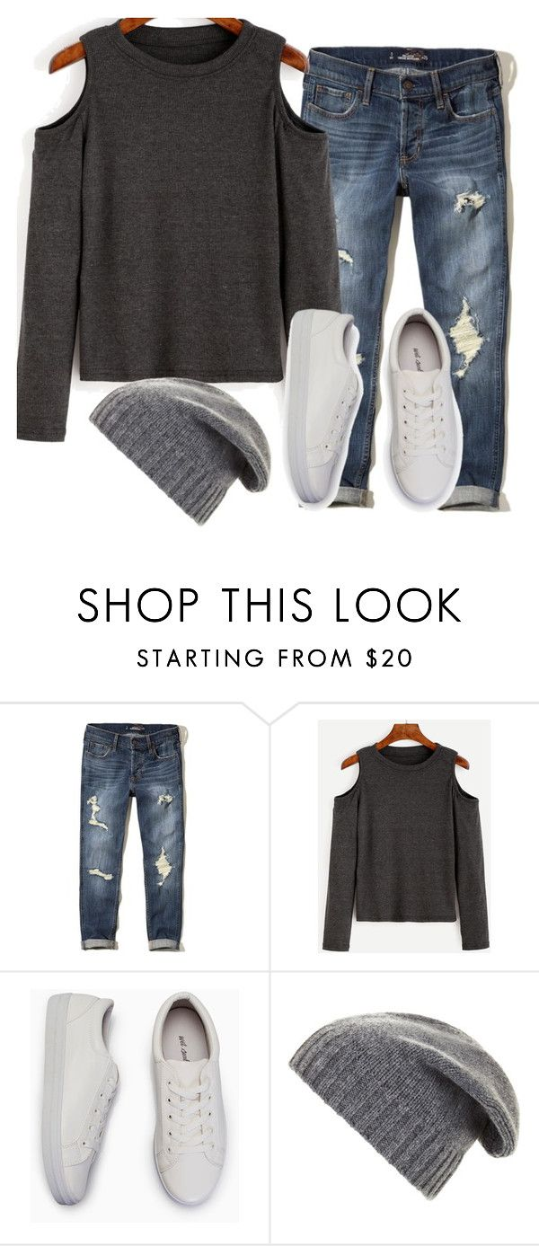 Period Outfit for School by arilyn-532 on Polyvore featuring Hollister Co. and BCBGMAXAZRIA #periodfashion