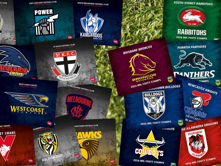 With footy season well and truly underway, Australia Post has released a range of licensed stamp packs for the 2016 AFL and NRL seasons. Learn more here: http://auspo.st/1tb9741 #Philatelic #AustralianStamps #AFL #NRL
