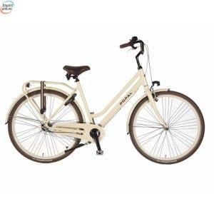 """Popal Solid Cream Dutch Bike - 3 Gir - 28"""" - 53 Cm kr 6 368,00"""