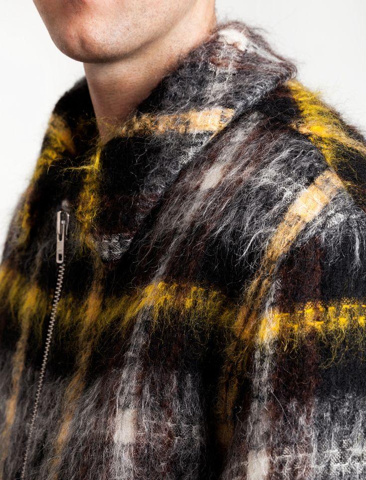 Gosha Rubchinskiy Wool Check Jacket – Neighbour