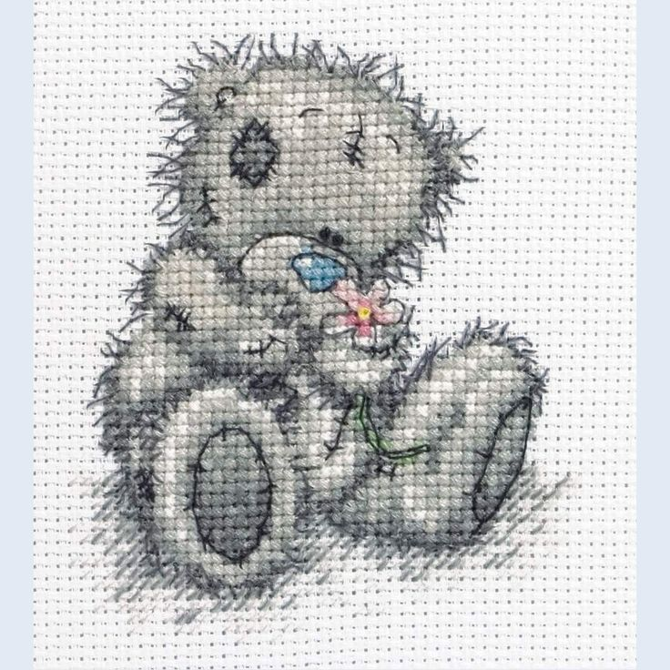 Flower for You - Me To You - Tatty Teddy - counted cross stitch kit Coats Crafts