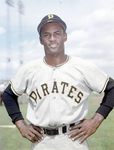 Roberto Clemente. I'm doing him for my Spanish project!!! ❤️