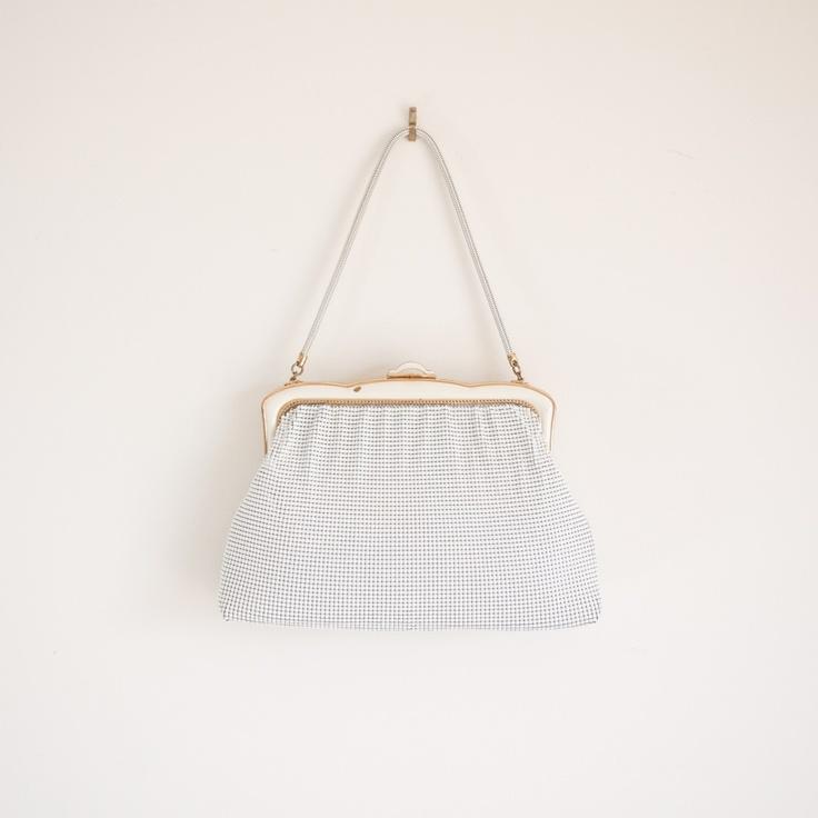 1960s 'Glimpse' metal mesh handbag by Oroton